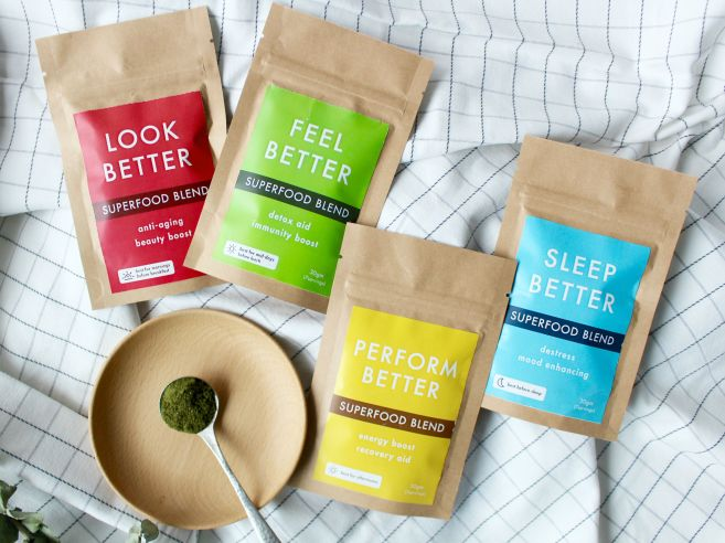 Superfood Powder Blends by HIC