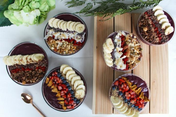 Acai bowls by HIC