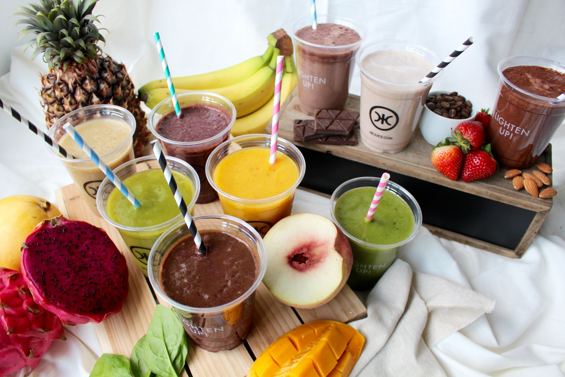Superfood smoothies by HIC