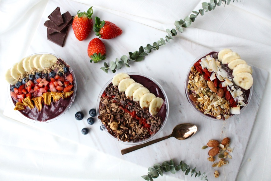 Acai bowls by HIC