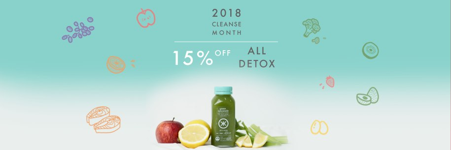 HICJUICE Cleanse Month 2018