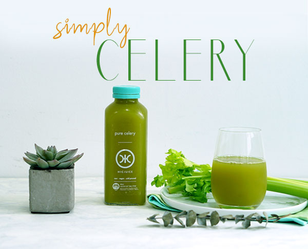 Pure Cold Pressed Celery Juice